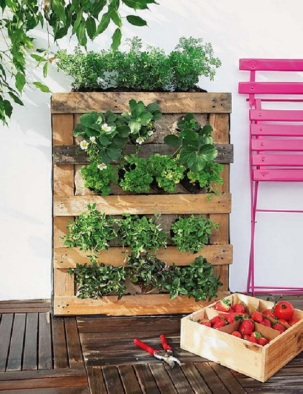 DIY-pallet-vertical-garden